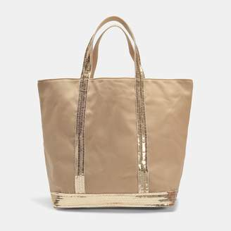 Medium + Leather and Eyelets Tote Bag in Craie Cowhide Leather Vanessa Bruno nfXl1nV8ba