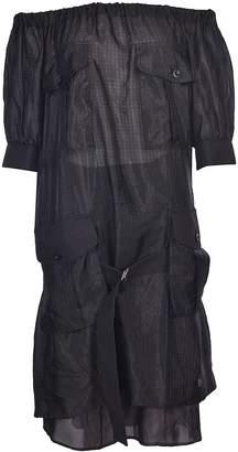 Sacai Patch Pocket Dress