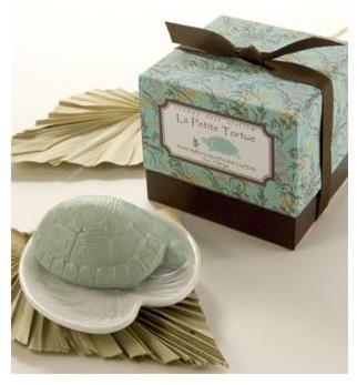 Gianna Rose Atelier - turtle with lily pad dish soap by gianna rose