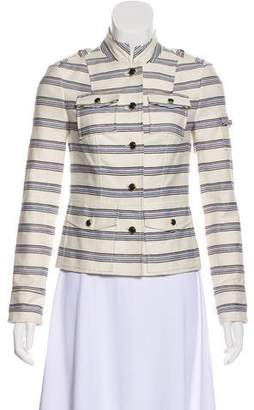 Tory Burch Structured Long Sleeve Blazer