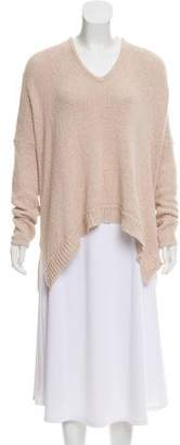 Helmut Lang High-Low Knit Sweater