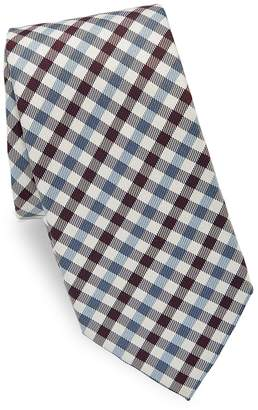Valentino Men's Plaid Silk Tie