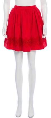 Alice + Olivia Mini Circle Skirt