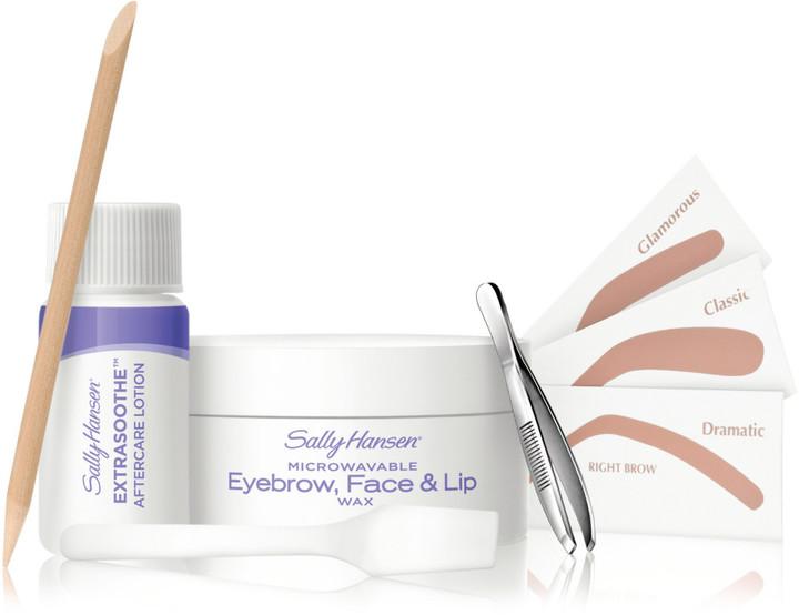 Sally Hansen Microwavable Eyebrow, Face and Lip Wax Kit
