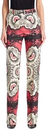 Valentino Women's Printed Skinny Pant