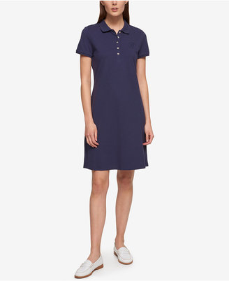 Tommy Hilfiger Short-Sleeve Polo Dress, Only at Macy's $79.50 thestylecure.com