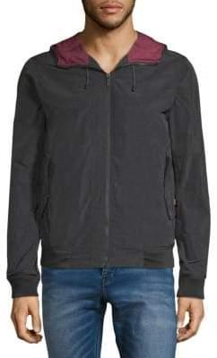 Scotch & Soda Full-Zip Hooded Jacket