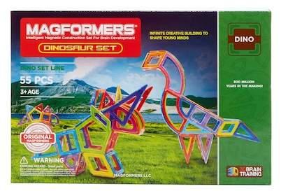 Magformers Toys Dinosaur Construction Set
