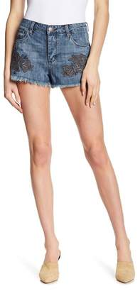 STS Blue Rose Bowl Embroidered Denim Shorts (Alamere Falls)