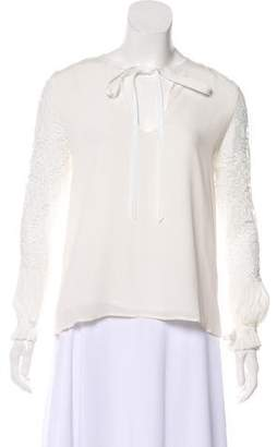 Alexis Long Sleeve Lace Blouse w/ Tags