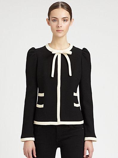 Milly Marzia Bow Jacket