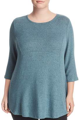 B Collection by Bobeau Curvy Brushed High/Low Top