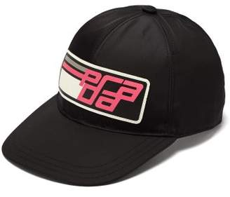 Prada Sports Logo Baseball Cap - Womens - Black