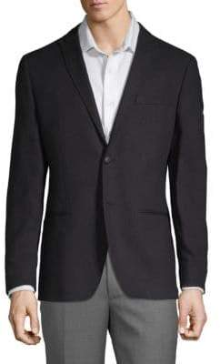 John Varvatos Two-Button Cotton & Linen Sports Jacket
