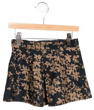 Little Paul and Joe Girls' Flared Printed Skirt