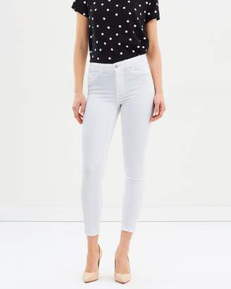 Only Blush Mid Ankle Skinny Jeans