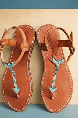 Laidback London Arrow Sandals