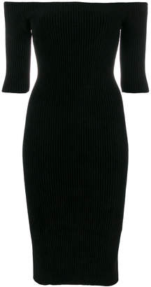 Helmut Lang seamless midi dress