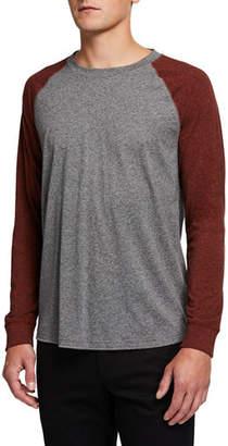 Vince Men's Raglan-Sleeve Baseball T-Shirt