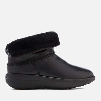 FitFlop Women's Mukluk Leather Shorty 2 Boots
