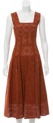 Derek Lam Eyelet Midi Dress w/ Tags