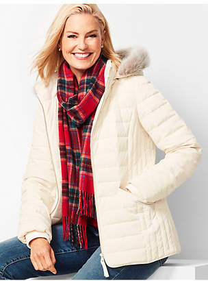 Talbots Down Puffer Jacket
