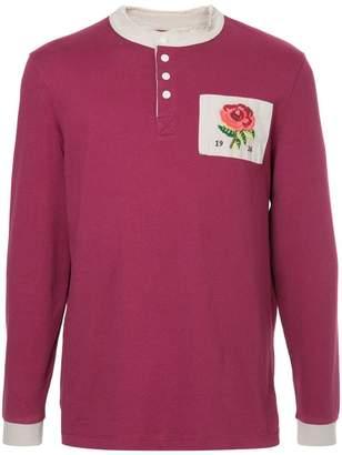 Kent & Curwen long-sleeve logo polo top