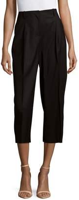 Lafayette 148 New York Rivington Wide-Leg Cropped Pants