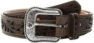 Ariat Floral Scroll Belt Men's Belts