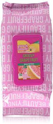 Jean Pierre Cosmetics 60 Groovy Cleansing Wipes