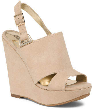 48de858fc90 Wedge Covered Shoes - ShopStyle