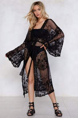 Nasty Gal Beginning to See the Light Lace Cover-Up