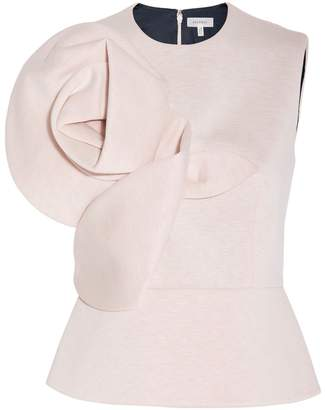 DELPOZO Neoprene Sleeveless Top