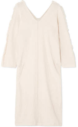 Caravana - Cotton-gauze Dress - Ecru