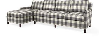 Serena & Lily Spruce Street Left-Facing Chaise Sectional