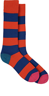 Paul Smith Men's Parton Cotton-Blend Mid-Calf Socks $30 thestylecure.com