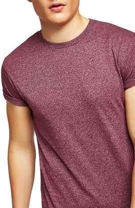 Topman Muscle Fit Flecked T-Shirt