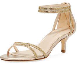 Pelle Moda Fillis Embellished Dressy Sandal