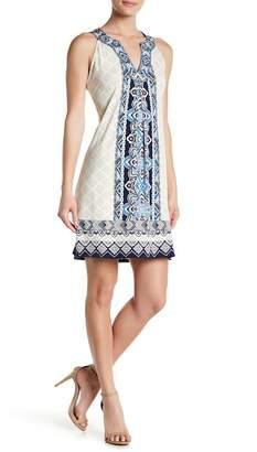 Hale Bob Sleeveless Print Dress