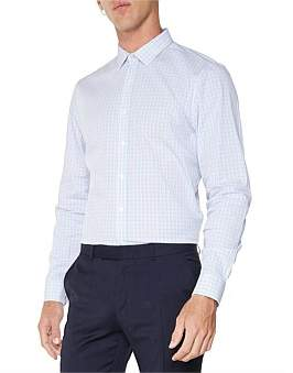 Ben Sherman Ls Multi Gingham Camden Fit Shirt