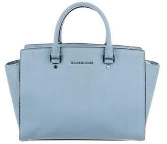 MICHAEL Michael Kors Saffiano Leather Medium Selma Satchel