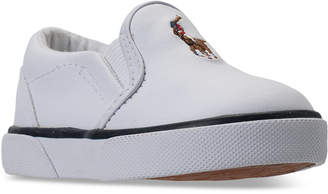 Polo Ralph Lauren (ポロ ラルフ ローレン) - Polo Ralph Lauren Toddler Boys' Bal Harbour Ii Casual Sneakers from Finish Line