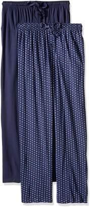 Fruit of the Loom Men's 2-Pack Jersey Knit Pajama Pant Set