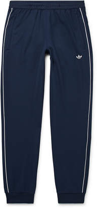 adidas Samstag Piped Stretch-Knit Track Pants - Men - Blue