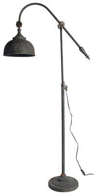 Darby Home Co Armand 66.5 Arched/Arc Floor Lamp