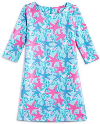 Vineyard Vines Girls' Starfish Shell Knit Dress