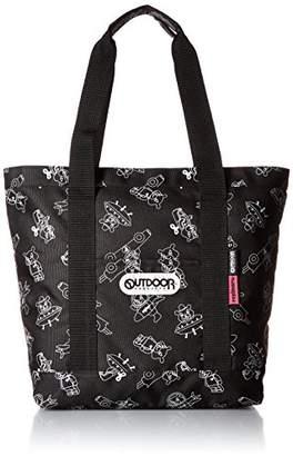 Outdoor Products (アウトドア プロダクツ) - [アウトドアプロダクツ] OUTDOOR PRODUCTS OUTDOOR & repimaru レピ丸 コラボトートバッグ RM103 クロ (クロ)