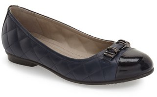 ECCO 'Touch' Ballerina Flat (Women) $129.95 thestylecure.com