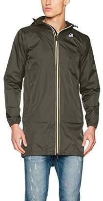 K-Way Men's K005IE0 Blouson Jacket - Grey - Large