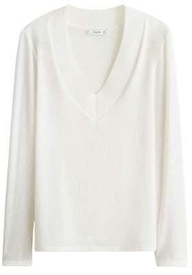 MANGO V-neck t-shirt